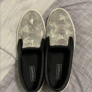TopShop slip on sneakers